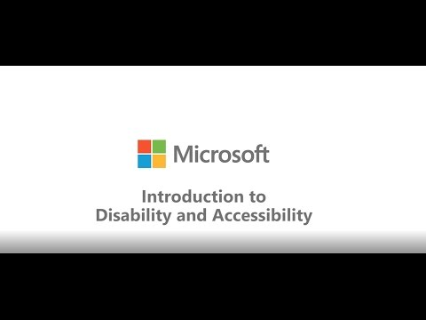 Introduction to Disability and Accessibility (audio described version)