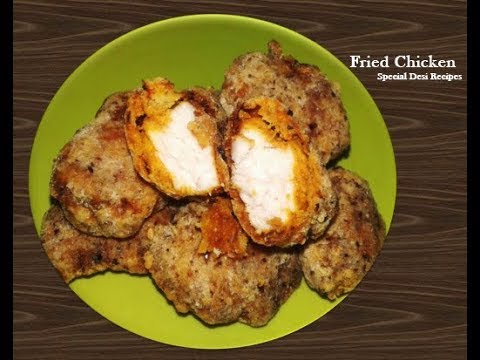 Fried Chicken Coated With Rice Flour | Fried Chicken | special desi recipes