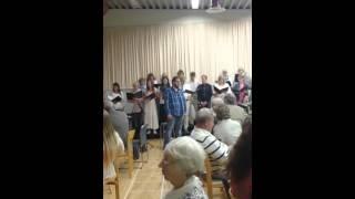 Me singing Old Man River