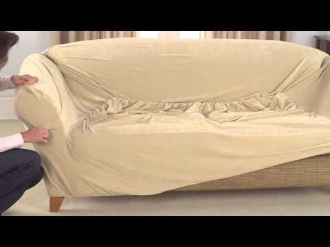 How To Install 1pc Stretch Slipcovers