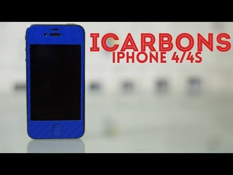 Blue iCarbons Carbon Fiber Skin Review for iPhone 4/4S
