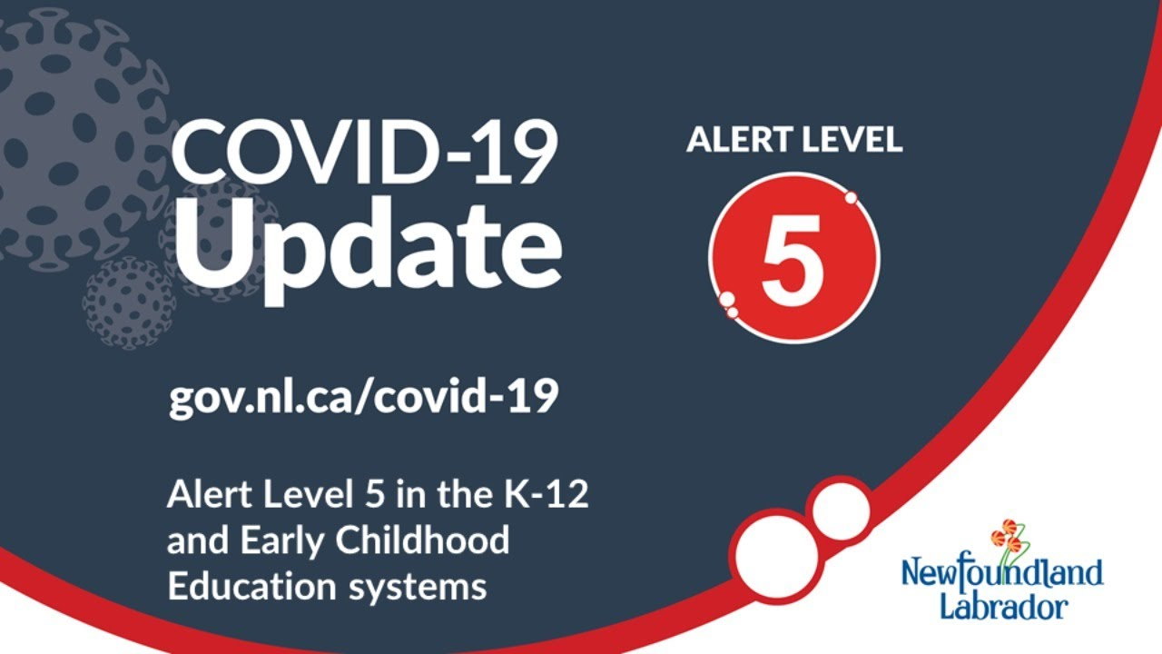 Alert Level 5 in the K-12 and Early Childhood Education Systems
