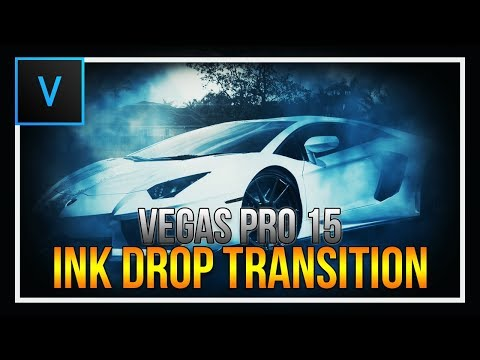How To: Ink Drop Effect in Vegas Pro 15
