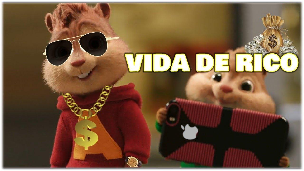 Download Vida de Rico - Camilo   Alvin and the Chipmunks MP3 Gratis