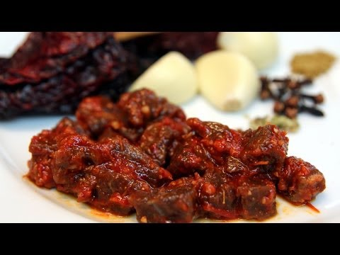 Beef Chorizo - Mexican Recipe - CookingWithAlia - Episode 299