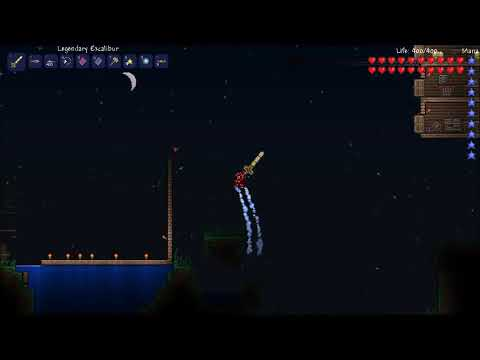 Terraria: how to make Excalibur  by: N3cro