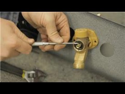 Fixing Faucets : How to Repair a Leak in a Frost-Proof Water Faucet
