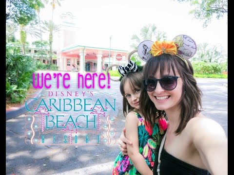 We're HERE!! Check-in to Disney's Caribbean Beach Resort: Day 1, Part 1 April 13, 2016