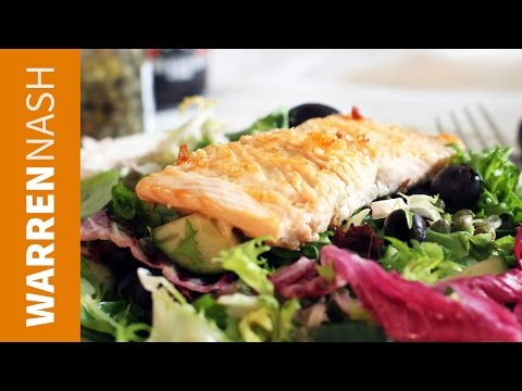 Salmon Salad Recipe - In 60 seconds - Recipes by Warren Nash