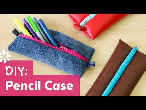 Back to School DIY Pencil Case | Sea Lemon