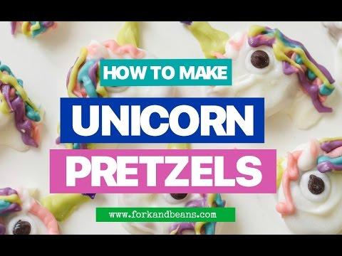 How to Make Unicorn Pretzels