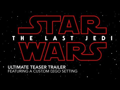 Star Wars Episode 8: The Last Jedi Teaser Trailer | Custom LEGO Star Wars Last Jedi Set