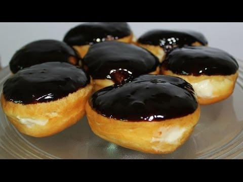 How to make Boston Cream Doughnuts at home