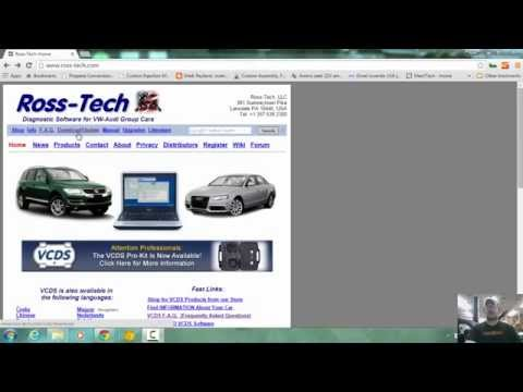Tutorial How To Download Ross-Tech VCDS and Install and setup