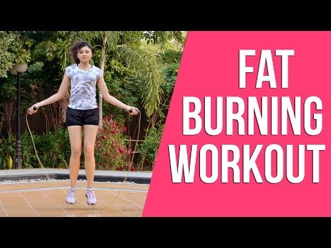 12 Jump Rope Styles for Beginners (Fat Burning Workout)  I Sapna Vyas