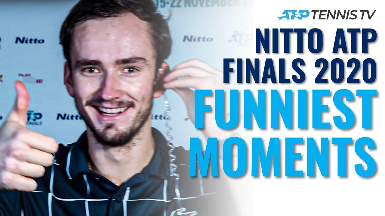 Funny Tennis Moments & Fails! | Nitto ATP Finals 2020