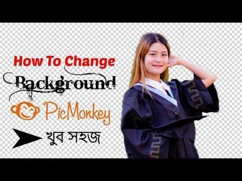 Change Photo Background With Picmonkey(Online)
