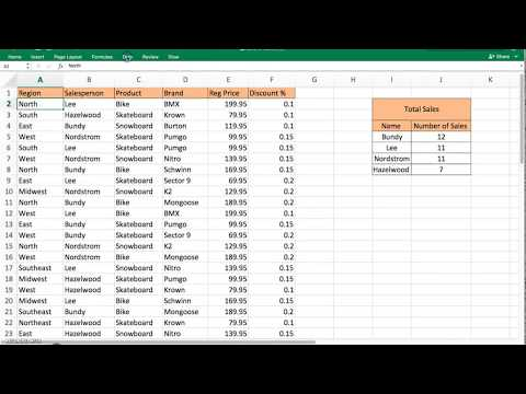Sorting in Excel 2016 (Macbook) - Single and Multi Level