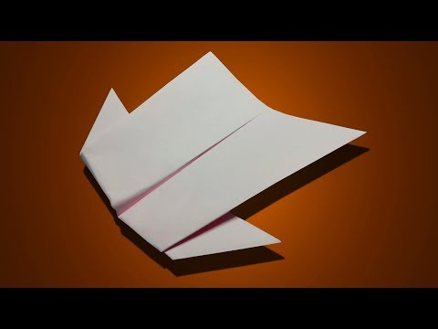 How To make A Paper Jet That Flies 10000 Feet Easy For Kids | Cool Paper Planes