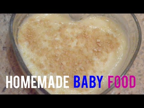 How to Make Baby Food at Home | Homemade Baby Food