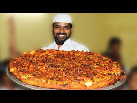 Pizza |King Size Chicken Pizza (100kg) For Orphan Kids | Nawabs kitchan