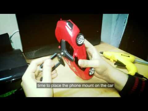 DIY Remote control car with wireless camera