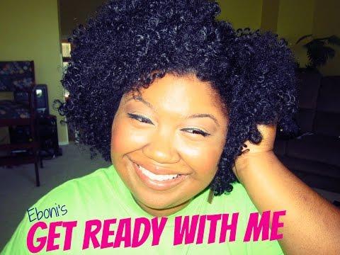 Get Ready w/Eboni! Easy, Simple, Everyday Makeup!