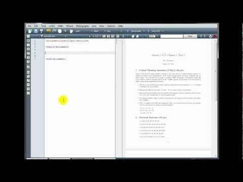 LaTeX Tutorial 6 - Packages, Macros, & Graphics - Part 1/2