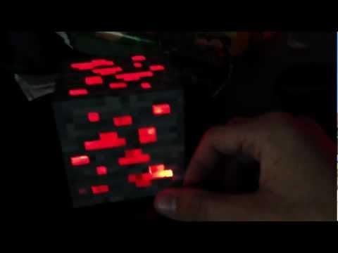Minecraft Redstone Ore Light Unboxing