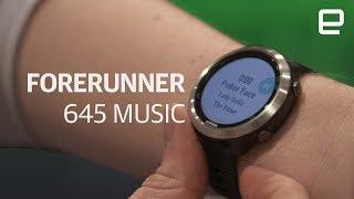 Garmin Forerunner 645 Music first look at CES 2018