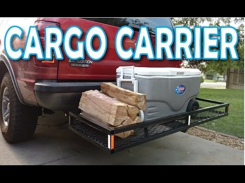 Making a Hitch Cargo Carrier from scrap metal
