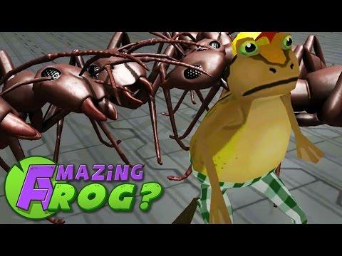 GIANT ANT ATTACK - Amazing Frog - Part 40 | Pungence