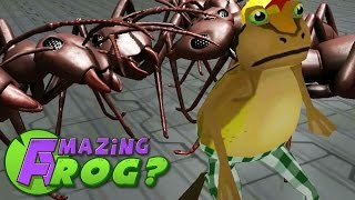 Download GIANT ANT ATTACK - Amazing Frog - Part 40 | Pungence Video