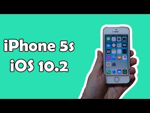 iPhone 5s iOS 10.2 - Novos emojis, app TV, melhorias e mais. [PT-BR]