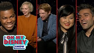 Speed Round With the Star Wars: The Last Jedi Cast: Light Side vs. Dark Side | Oh My Disney Show