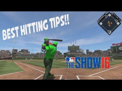 Best Hitting Tips! MLB The Show 16