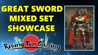 Monster Hunter Generations: Great Sword Mixed Set Showcase!