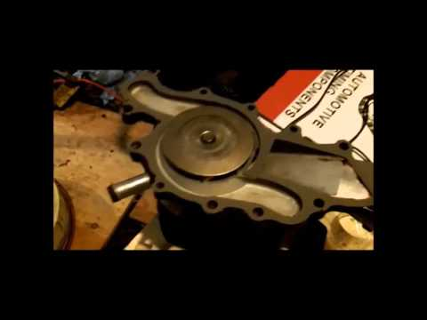 Ford Ranger 3.0 timing chain gear set replacement PART 1 Install Remove Replace How to