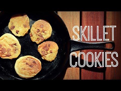 Skillet Cookies (No-Bake Cookies Recipe) | Just Eat Life