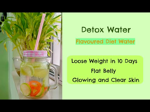 Detox Water for Weight Loss | How to Lose Weight Fast | 5 kg in 10 days