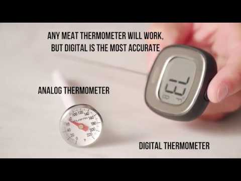 Pork Cooking Temperature & Meat Thermometer Basics