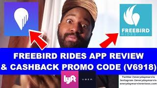 Freebird Rides App Review | FREEBIRD Rides APP PROMO CODE Reviews