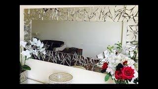 DIY: Mirrored Mosaic Wall Art! DIY Wall Decor (EASY & CHEAP) 2018, Ikea Hack