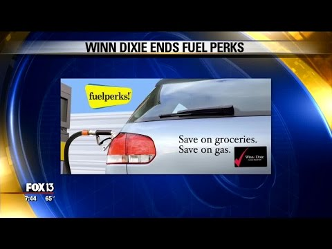 What to do now that Winn Dixie is ending FuelPerks