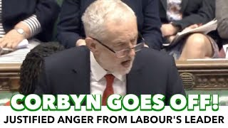 Corbyn Exposes Tories In Budget Response