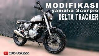modifikasi yamaha Scorpio delta tracker