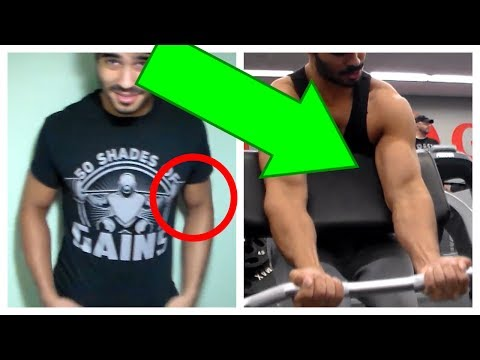 How To Get Wider Arms From The FRONT (wider thicker biceps)