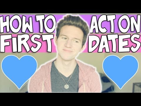 HOW TO ACT ON A FIRST DATE | RICKY DILLON