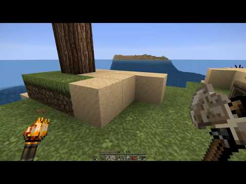 Minecraft Lonely Island Hardcore! Searching for Iron Episode 3