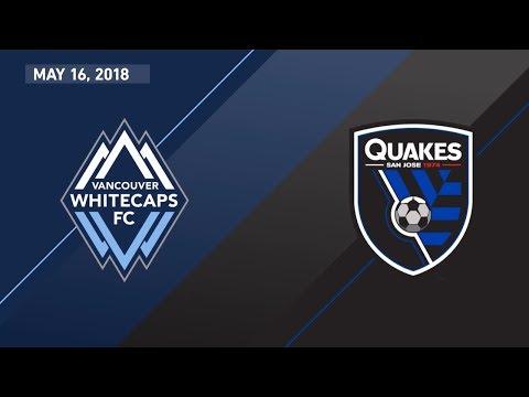 HIGHLIGHTS: Vancouver Whitecaps FC vs. San Jose Earthquakes | May 16, 2018